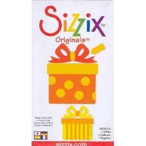 com Sizzix Originals GIFTS YELLOW MEDIUM DIE RETIRED Home & Kitchen