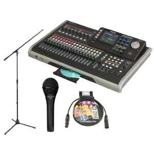 TASCAM DP 24 24 track Digital Portastudio Bundle with