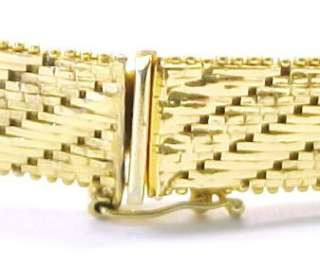 Gold Plated Sterling Silver Riccio Link Bracelet ~ in excellent