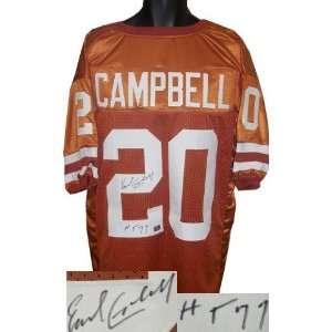 Texas Longhorns Orange Custom HT 77 Heisman)   Autographed NFL Jerseys