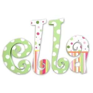 ELLAS STRIPES AND POLKA DOTS WALL LETTERS Baby
