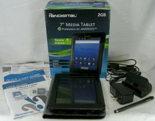 PANDIGITAL~7 MEDIA TABLET TOUCH SCREEN~POWERED BY ANDROID~IN BOX