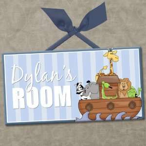 Personalized Kids Room Wall Door Sign ANIMAL FRIENDS
