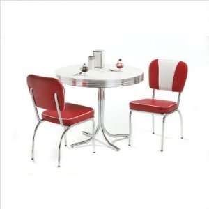 Dinette Set Arvin Metal Chrome Vintage Kitchen Table And Chairs Retro 1950s