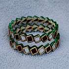 Indian Bollywood Fashion Jewelry Emerald Kundan Minakari Gold Plated