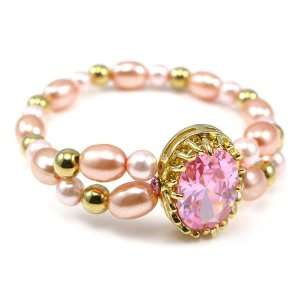 Perfect Gift   High Quality Fancy Fashion Pearl Bracelet