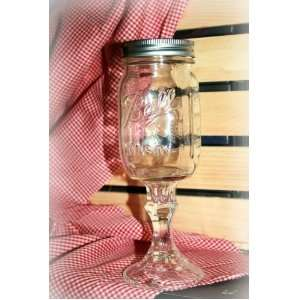 Original Southern Charm Redneck Wine GlassTM:  Kitchen