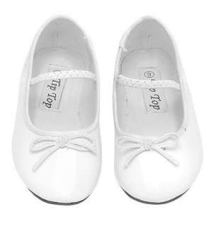 TODDLER BABY GIRLS DRESS SHOES Wedding Pageant WHITE
