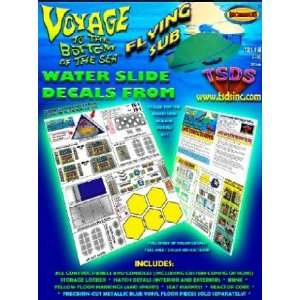 TDS 1/32 Flying Sub Decal Set for Moebius