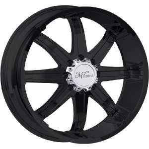 24x9.5 Milanni Kool Whip 8 8x170 +18mm Matte Black Wheels Rims Inch 24