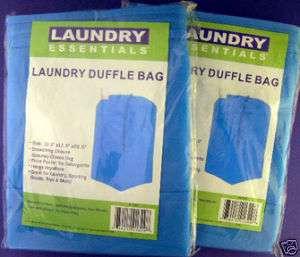 Laundry Duffel Bags, Sturdy Duffle Bag, Turquoise, Secure Drawstring