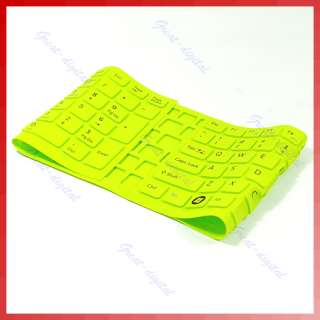 Green Keyboard Skin Cover Protector For Sony EB Series