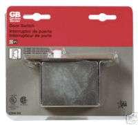 CLOSET PANTRY AUTOMATIC PUSH DOOR JAM SWITCH SPST 10 Amp 125 V UL