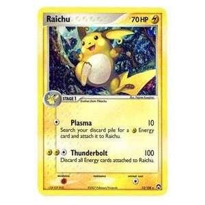 Pokemon   Raichu (12)   EX Power Keepers   Holofoil: Toys