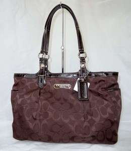 NWT COACH EAST/WEST GALLERY SIGNATURE TOTE BAG 15146