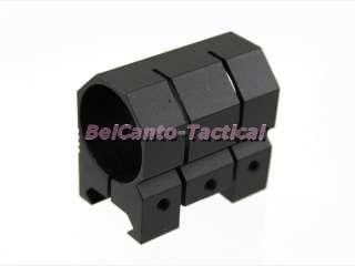 Tactical 1 25mm Scope Flashlight Laser Tube Mount for Weaver