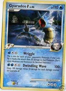 GYARADOS G Pokemon Rare Card Platinum 30/127