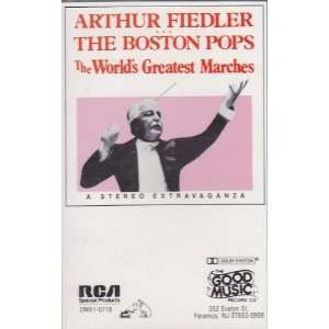 com The Worlds Greatest Marches Arthur Fiedler, Boston Pops Music