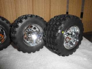 HPI Savage / RPM Wheels 2.2 Proline Tires Dirt Hawg II RC Truck / JATO