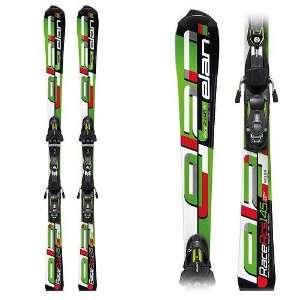 Elan RCS Waveflex Junior Race Skis with ER 11.0 FF Plus