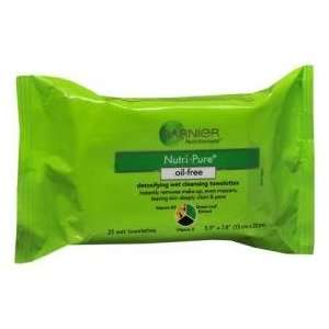 Garnier Nutritioniste Nutri Pure Cleansing Towelettes 50