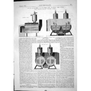 Engineering 1875 Twin Boilers Avon Manure Works Bristol