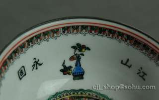 Chinese Antiques rare porcelain Emperors yellow bowl handmade Asian