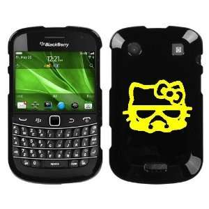 BOLD 9930 YELLOW HELLO KITTY STORMTROOPER ON BLACK HARD CASE COVER
