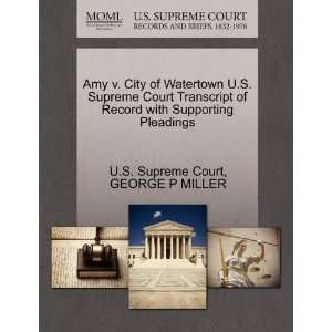Pleadings (9781270180203) GEORGE P MILLER, U.S. Supreme Court Books