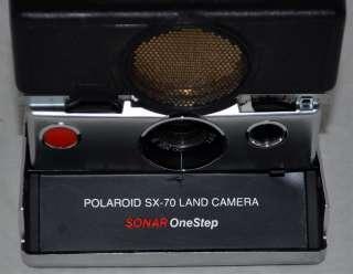 Vintage Polaroid SX 70 Sonar OneStep Folding Land Camera