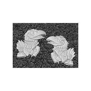 Logo Art Kansas Jayhawks Sterling Silver Team Logo 7/16