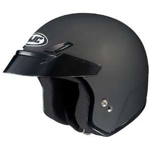 HJC Solid Mens CS 5N Harley Cruiser Motorcycle Helmet   Flat Black