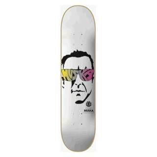 Element Skateboards Muska Pop Icon Deck  7.5 Featherlight