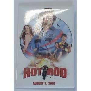 HOT ROD PROMOTIONAL BUTTON