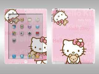 Pink Hello Kitty Sticker Skin for Apple iPad 2 P206