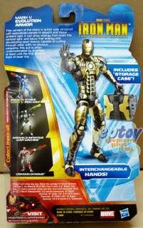 Hasbro Iron Man legends Series Mark V Evolution Armor
