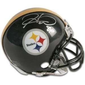 Hines Ward Pittsburgh Steelers Autographed Riddell Replica Mini Helmet