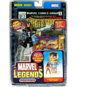 Marvel Legends Series 15 Action Figure Spider Woman Julia Carpenter