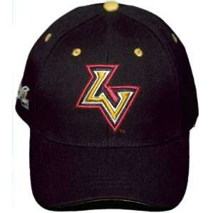 New Black XFL 3D Embroidered Las Vegas Outlaws Adjustable Velcro Back