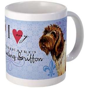 Wirehaired Pointing Griffon Cute Mug by CafePress Home