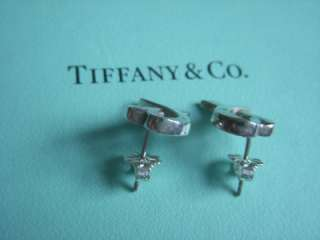 Tiffany & Co. Sterling Picasso Loving Heart Earrings