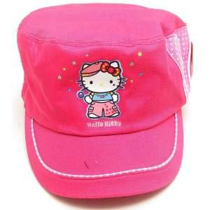 Hello Kitty Cap in Pink Color and Dora Bifold Wallet Set Toys & Games