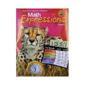 Math Expressions, Grade 5 Student Activity Book Houghton