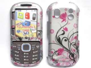 Samsung Intensity II 2 U460 Hard Case Cover Pink Flower