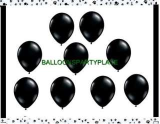 black white party polka dot damask paw prints birthday supplies