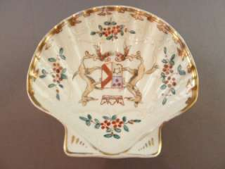 Hand Painted   Enameled Limoges Shell Dish