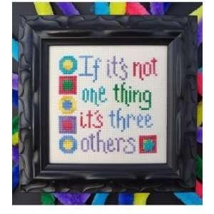Not One Thing   Cross Stitch Pattern Arts, Crafts