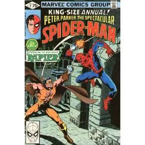 Peter Parker The Spectacular Spider Man Annual comics 2 6