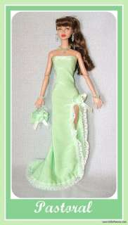 HANDMADE FASHION GOWN +JEWELRY 4 POPPY PARKER DOLL d4e