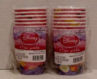Disney Princess Birthday Party 16 Plates Cups Napkins